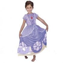 Disfraz De Princesita Sofia Y 1 Vincha De Regalo