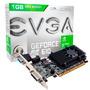 Placa De Vídeo Geforce Nvidia Gt 610 1gb Ddr3 Hdmi Dvi Evga