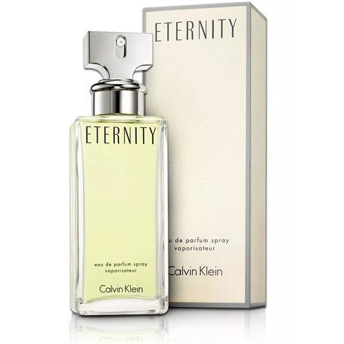 623075c15ce01 Perfume Eternity 100ml Fem Calvin Klein Edp Original Lacrado - R  198