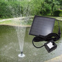 Bomba Dagua Para Fontes Jardins Com Painel Solar