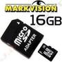 Memoria Micro Sd 16gb Con Adaptador En Su Empaque Markvision