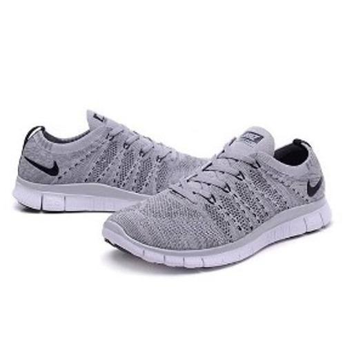 sale retailer a2fc2 f32dc Tenis Zapatillas Nike Free 5.0 Gris Flyknit Hombre 2018 -  149.900 en  Mercado Libre