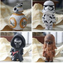 Coleccionable 4 Pc Star Wars 7 Juguetes Bb8 Fuerza W210
