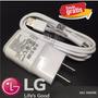 Cargador Original Lg G2 G3 G4 Nexus G Flax L9 F3 Envi Gratis
