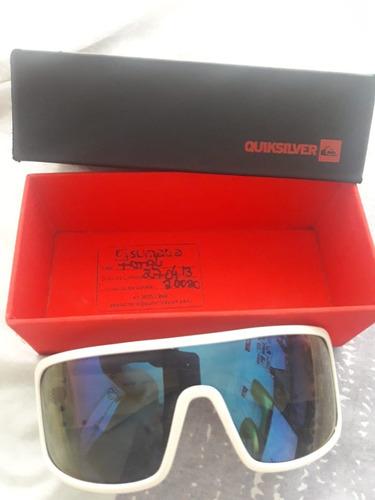 e36f11db927c2 Óculos Quiksilver Racer White Blue - R  150,00 em Mercado Livre