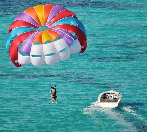 Paraquedas Puxado P Lancha Ou Jetski Nautica Esportes Voo - R$ 3.550,00