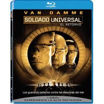Blu Ray Universal Soldier 2 Soldado Universal El Regreso Tam