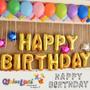 Globos Metalicos Happy Birthday