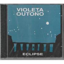 Violeta De Outono - Cd Eclipse - 1986 - Lacrado - Importado