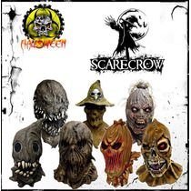 Mascaras De Espantapajaros, Scarecrow Para Halloween