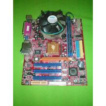 Tarjeta Madre P4m800-m74 775 Procesador Pentium 4 Ram 512