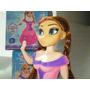 Boneca Frozen Elsa E Ana Iluminada Led Canta E Danca