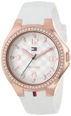 41e94085dd1 Relógio Tommy Hilfiger Fem Pulseira Branca 12 X Sem Juros - R  739 ...