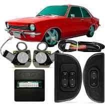 Kit Vidro Eletrico Chevette C/ Quebra Vento Com Motor Mabuch
