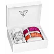 Reloj Guess Para Dama Estilo U12624l2 Con 3 Extensibles