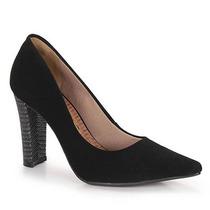 Sapato Scarpin Feminino Via Marte - Preto
