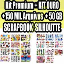 Super Kit Premium Silhouette + Scrapbook + 93 Festas Prontas
