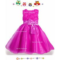 Vestido Tul Fiesta Cumpleaños Matrimonio Paje Ceremonia