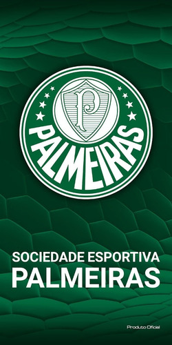 Toalha Felpuda Time De Futebol - Palmeiras  75ad48ad96ccf