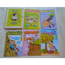 Coleção Histórica Da Turma Da Mônica Box Com 5 Revistas