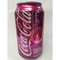 Refresco Importado En Lata Coca Cola Cherry