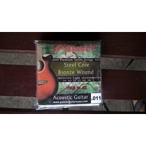 Juego De Cuerdas 011 Guitarra Acústica O Electroacústica