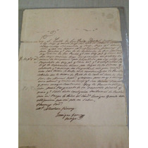 Documento Antiguo. Hoja De Empeño. 1856