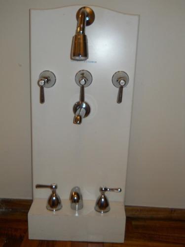 griferia para baño completo modelo 1/4 de vuelta - $ 2.760,00 en ... - Griferia Para Bano En Mercado Libre