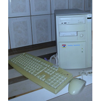 Computador Pc Antigo Itautec Infoway C/ Teclado E Mouse