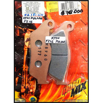 Pastillas De Freno Racing Pulsar Fz16 Moldmix 50% Off
