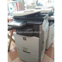 Copiadora Sharp Mx3610 Impresora Escaner Usb Color Doblecart
