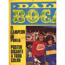Poster Boca Juniors Campeon Hugo Gatti Diego Maradona