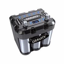Capacitor Gravity 1000 A Bateria Carro Con Led