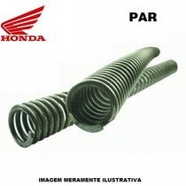 Par Molas Suspenssão Dianteira Honda Cr 85 2003-2007 Oem