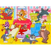 Quebra-cabeça (6570) Puzzle Infantil - 60pcs Tom And Jerry
