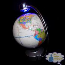 Globo Terraqueo Giratorio Mundo Magnetico Giratorio Luz Led