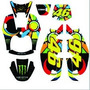 Kit Calcomanias Original Vr46 Bws 100 Yamaha-bera