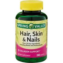 Tratamiento Cabello Uñas Piel Hair Skin Nails 1000 Mcg