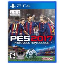 Pro Evolution 17 Pes 17 Ps4,ps3 Pes 2017 Fifa 17 Proximament