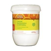 Dagua Natural Creme De Massagem Citrus 650g - Frete Grátis