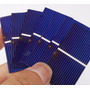 Célula Solar Silício Poli Cristalino 52 X 26mm 0,28w 0,5v