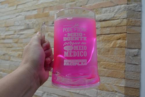 8b3e5a100 15 canecas cerveja chopp gel congelante 450ml personalizadas. Carregando  zoom.