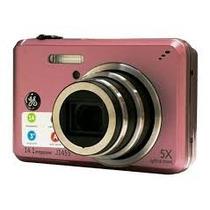 Câmera Digital J1455 Rosa 14.1mp Lcd 3 Ge Com Sd 2gb