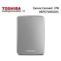 Disco Duro Externo Toshiba Canvio Connect 1tb Plata +estuche