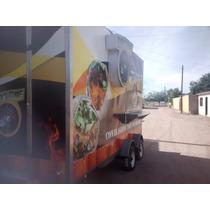 Remolque Food Truck Cocina, Con Equipo Interior Acero Inox.