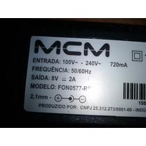 Transformador Cargador Mcm 8v 2a