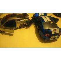 Ford Mustang Gt 2010 Azul Y Gris Super Detallado Jada Toys