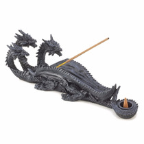 Figura De Dragon Para Poner Incienso Blakhelmet Sp