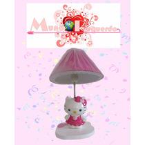 Lámpara Infantil Ideal Para Centro De Mesa Hello Kitty