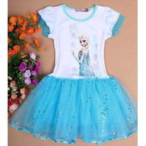 Vestido Frozen Elsa Princesa